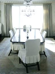 Dining Chair Slipcovers With Arms White Chair Slipcovers 8libre