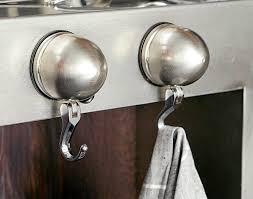 crochet cuisine inox étourdissant porte manteau ventouse salle bain et crochets ventouse
