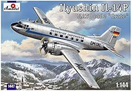 bureau lufthansa amazon com ilyushin il 14p ddr lufthansa civil aircraft ilyushin