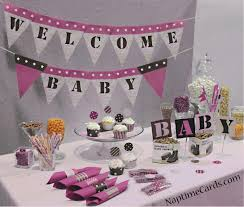 green theme baby shower party pink camo baby shower decorations