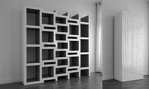 trend decoration partition shelves design for exquisite and modern