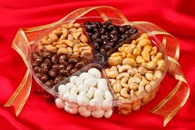 nut baskets 6 section cashew assortment gift tray from nuts in bulk nut baskets