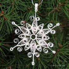 harmony quilled snowflake ornament by quillynilly via