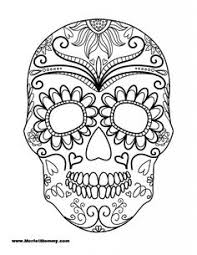 hallowen coloring pages printable skulls coloring pages for kids fun toys pinterest