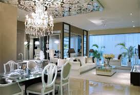 Modern Dining Room Ceiling Lights by Dining Room Rail Ceiling With Simple Round Inner Ceiling