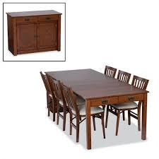 expanding cabinet dining table stakmore 5272v mission expanding cabinet dining table furniture