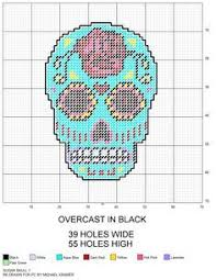 free printable plastic canvas patterns skulls search