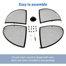 40 fire pit 40 u201d fire pit screen easy go products egp fire 009 fire pits