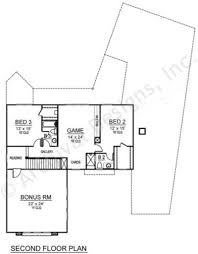 2nd Floor House Plan by Essex Contemporary House Plans Luxury Floor Plans