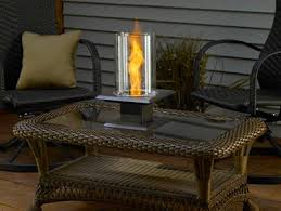 Table Top Gas Patio Heater Outdoor Gel And Bio Ethanol Fireplaces