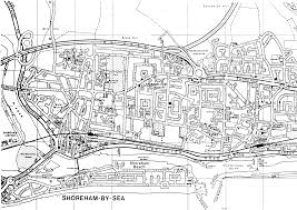 Sea Airport Map Shoreham By Sea England City Map Shoreham By Sea England U2022 Mappery