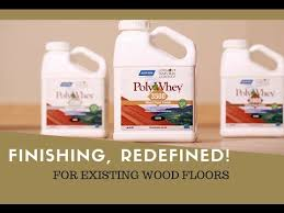 restore existing wood floors with polywhey finish
