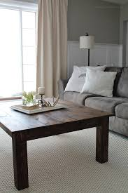 How To Build A Wood End Table by Diy Farmhouse Coffee Table Love Grows Wild
