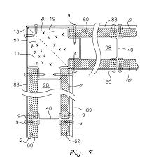 patent us7900411 shear wall building assemblies google patents patent drawing