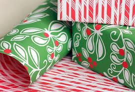 sided wrapping paper gift wrap blue bergitt