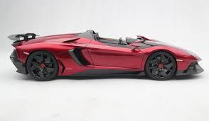 Lamborghini Aventador J Blue - lamborghini aventador j 2012 scale model cars
