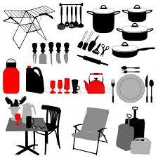objets de cuisine objets de cuisine set image vectorielle lakalla 2473529