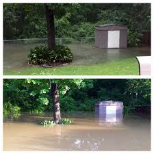 san diego backyard flood el nino heavy rain tuesday jan image on