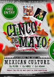 template for flyer free dowload cinco de mayo free psd flyer template