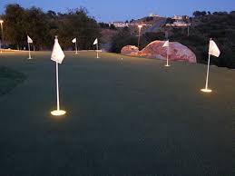 backyard putting green lighting artificial turf tucson arizona putting greens