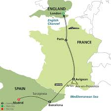 Map Of England And France by Manor Travel Holiday Experts For Corporate Travellers