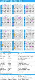 Calendario 2018 Argentina Ministerio Interior Estos Los Feriados Y Fines De Semana Largos De 2014