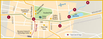 Melbourne Tram Map Vintage Talking Tram Bendigo Tramways
