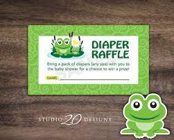 frog themed baby shower instant frog raffle cards printable gender