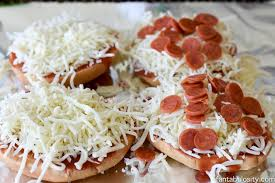 easy kid friendly favorite bagel pizzas recipe fantabulosity