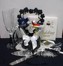 nightmare before christmas wedding cake topper lot glasses zoom