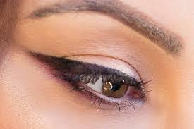 reversed smokey cat eye makeup geek