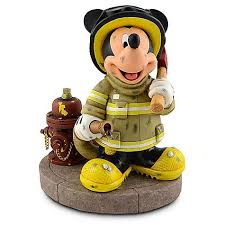 firefighter figurines your wdw store disney medium figure statue firefighter