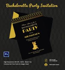 Party Invitation Cards Templates Bachelorette Party Invitation Templates U2013 Gangcraft Net