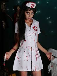 Bloody Nurse Halloween Costume Cheap Halloween Costumes Sale
