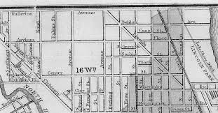 Chicago Fire Map by Lakeview Historical Chronicles The Township Developments