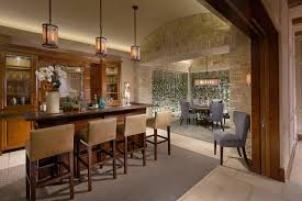 Mediterranean Dining Room Furniture by Seductive Mediterranean Home Bar Designs For Leisure In Your Own Home