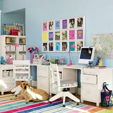 White Wood Desk Boys Bedroom Casual Boys Room With White Wood Desk Also White