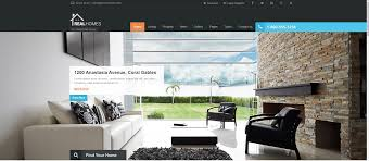 Houzez Theme by Real Estate Website Templates 25 Examples U0026 How To Choose