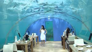 maldives ringali island conrad underwater restaurant part 3 youtube