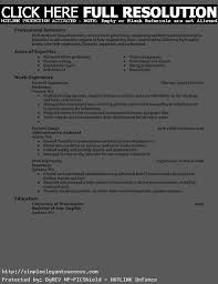 awesome collection of sample of resume for work with template