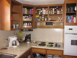 kitchen with shelves no cabinets kitchen no wall cabinets