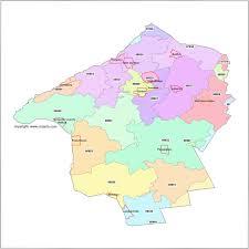 map of essex county nj hunterdon county jersey zip code map