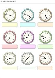 printable activities for kids what time is it 22