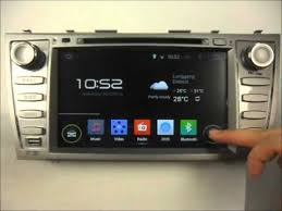 gps toyota camry android auto dvd player for toyota camry 2007 2011 gps navigation