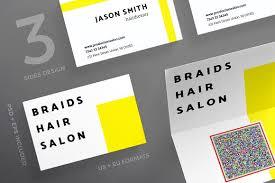 business cards braids hair salon business card templates