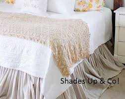 the 25 best ruffle bed skirts ideas on pinterest burlap bedroom