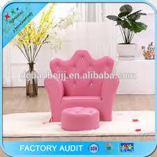 canapé princesse princesse mousse canapé enfants trône chaise avec repose pieds