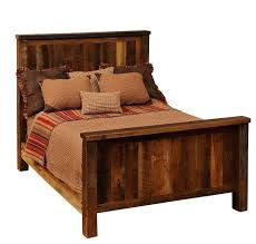 traditional barnwood bed rustic beds for sale lodge craft