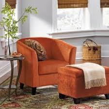 Burnt Orange Accent Chair Schneiderman S Orange Accent Chair Living Room