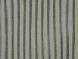 Blue Ticking Curtains Curtain Fabric Upholstery Fabric Wide Ticking Blue